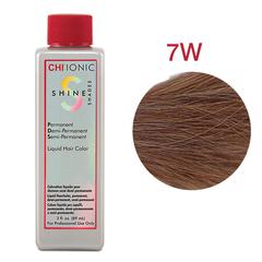CHI Ionic Shine Shades Liquid Color 7W (Темный теплый блондин) - Жидкая краска для волос