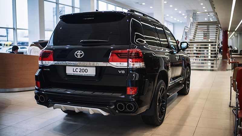 Обвес MTR для Toyota Land Cruiser 200