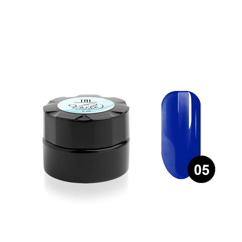 Гель-краска для тонких линий TNL Voile №05 (синяя), 6 мл.