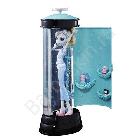 Кукла Monster High Лагуна Блю с Гидростанцией (Lagoona Blue Hydration Station) - Пижамная вечеринка (Dead Tired), Mattel