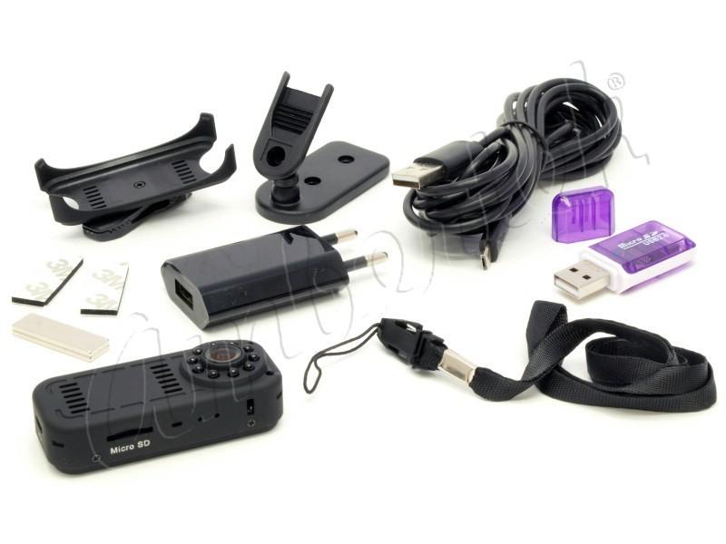 Миниатюрная IP видеокамера Ambertek MD90S