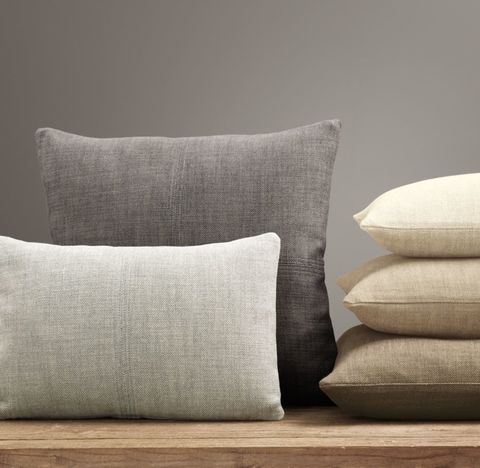 Custom Perennials® Textured Linen Weave 4-Square Pillow Cover