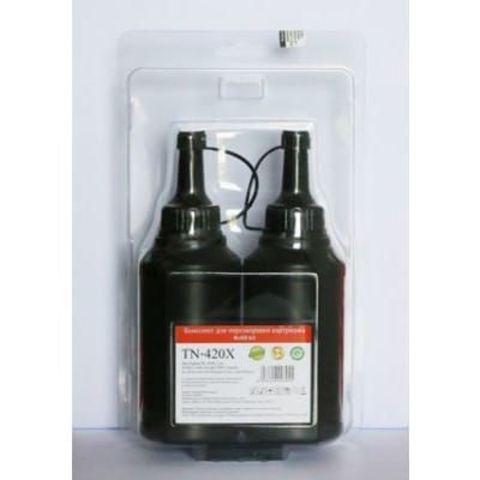 Заправочный комплект Pantum TN-420X для Pantum P3010/P3300/M6700/M6800/M7100/M7200, черный. Ресурс 2 емкости на 3000 стр. (с чипом)