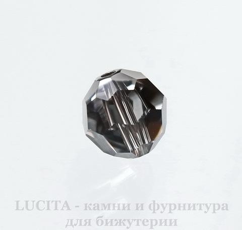 5000 Бусина - шарик с огранкой Сваровски Crystal Silver Night 8 мм