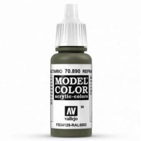 Model Color Retractive Green 17 ml.