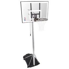 """Стойка мобильная баскетбольная Spalding Silver 42"""" из акрила"""