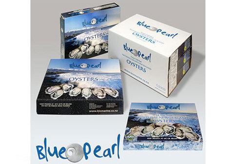 Устрицы Blue Pearl замороженные, 12шт