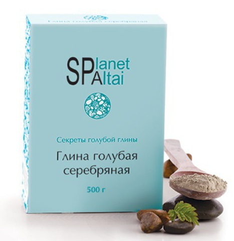 Planet SPA Altai Голубая глина Серебряная фото1