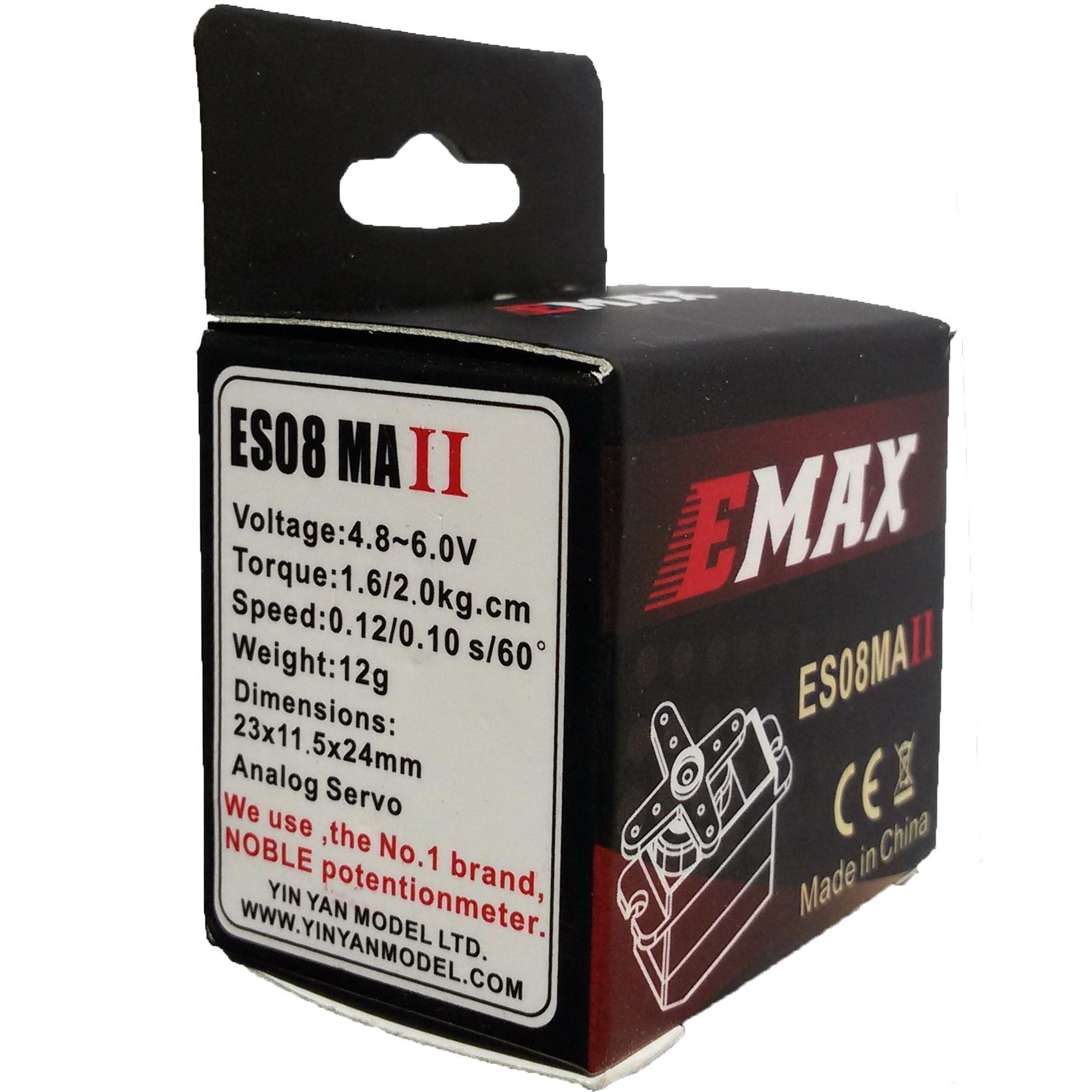 Микросервопривод EMAX ES08 MAII