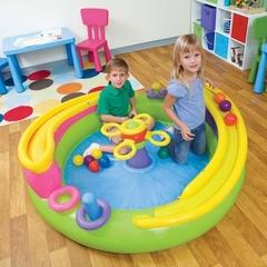 Intex Детский игровой надувной центр с мячиками, 147*46 см (140729)
