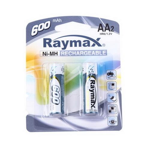 Аккумуляторы Raymax R6, AA 600mAh (2/24)