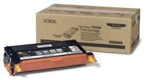 Xerox Phaser 6180 тонер-картридж yellow (желтый) 113R00725 (6000 стр.)