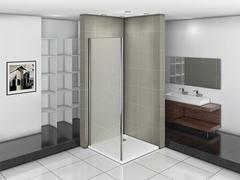 Душевое ограждение (боковая часть) Good Door INFINITY SP-80-G-CH 80 см