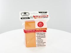 Ultimate Guard - Оранжевые матовые протекторы 80 штук