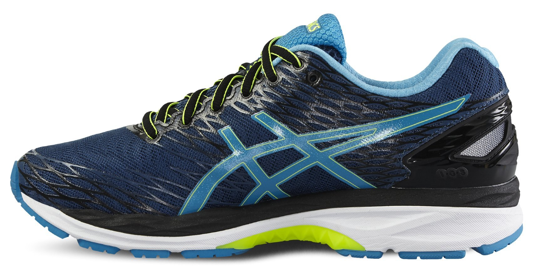 ASICS GEL-NIMBUS 18 мужские кроссовки для бега темно-синие