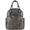 Сумка-рюкзак женский PYATO 1901 Серый