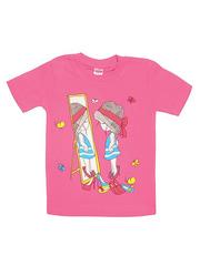 DL11-1-27 Футболка детская, розовая