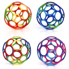 Oball Мячик 10 см, цвета в ассортименте (81024)