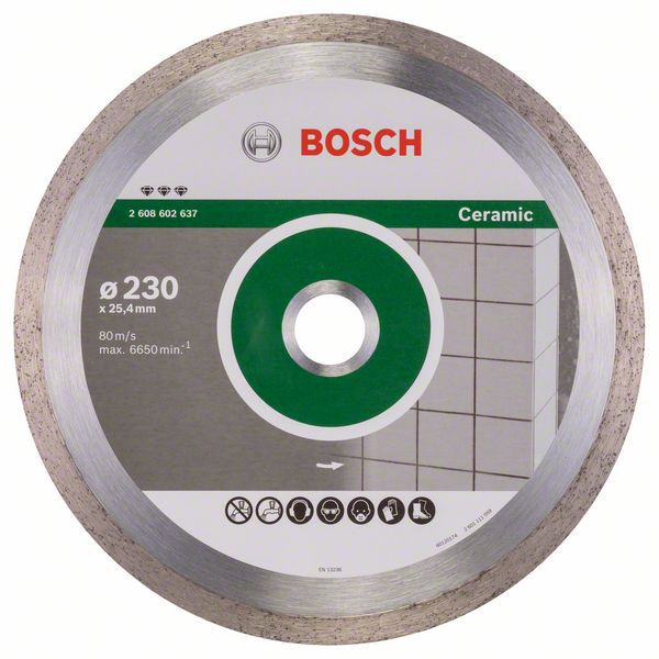 Алмазный диск Best for Ceramic 230-25,4 Bosch 2608602637