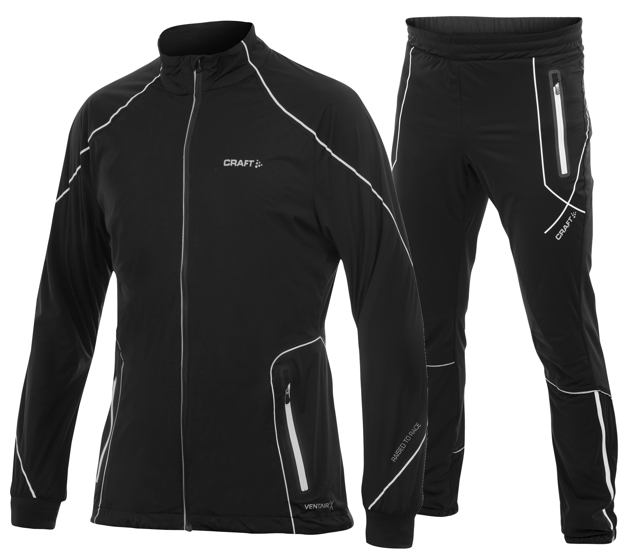 Мужской лыжный костюм Craft High Function 1902269-9900-1902270 черный фото