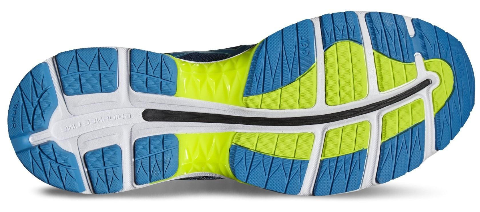 Мужские кроссовки для бега Asics Gel-Nimbus 18 T600N 5843 синие интернет-магазин
