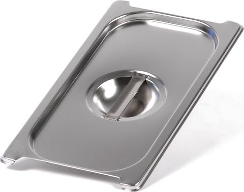 Крышка Luxstahl из нержавеющей стали для GN 1/3