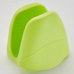 Прихватка силиконовая термостойкая BE-0216S зеленая