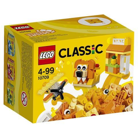 LEGO Classic: Оранжевый набор для творчества 10709 — Orange Creativity Box — Лего Классик