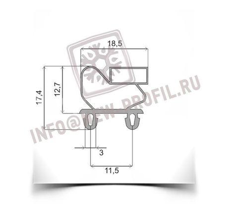 Уплотнитель для холодильного шкафа Polair CM114-R(S).Размер  154,5*65,5 см Профиль 011