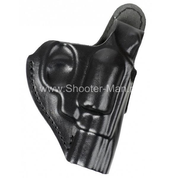 Кобура кожаная для револьвера Гроза Р-02 ( модель № 8 ) Стич Профи