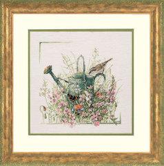 Lanarte Лейка, бабочка, птичка (Лейка в цветах, Watering Can)