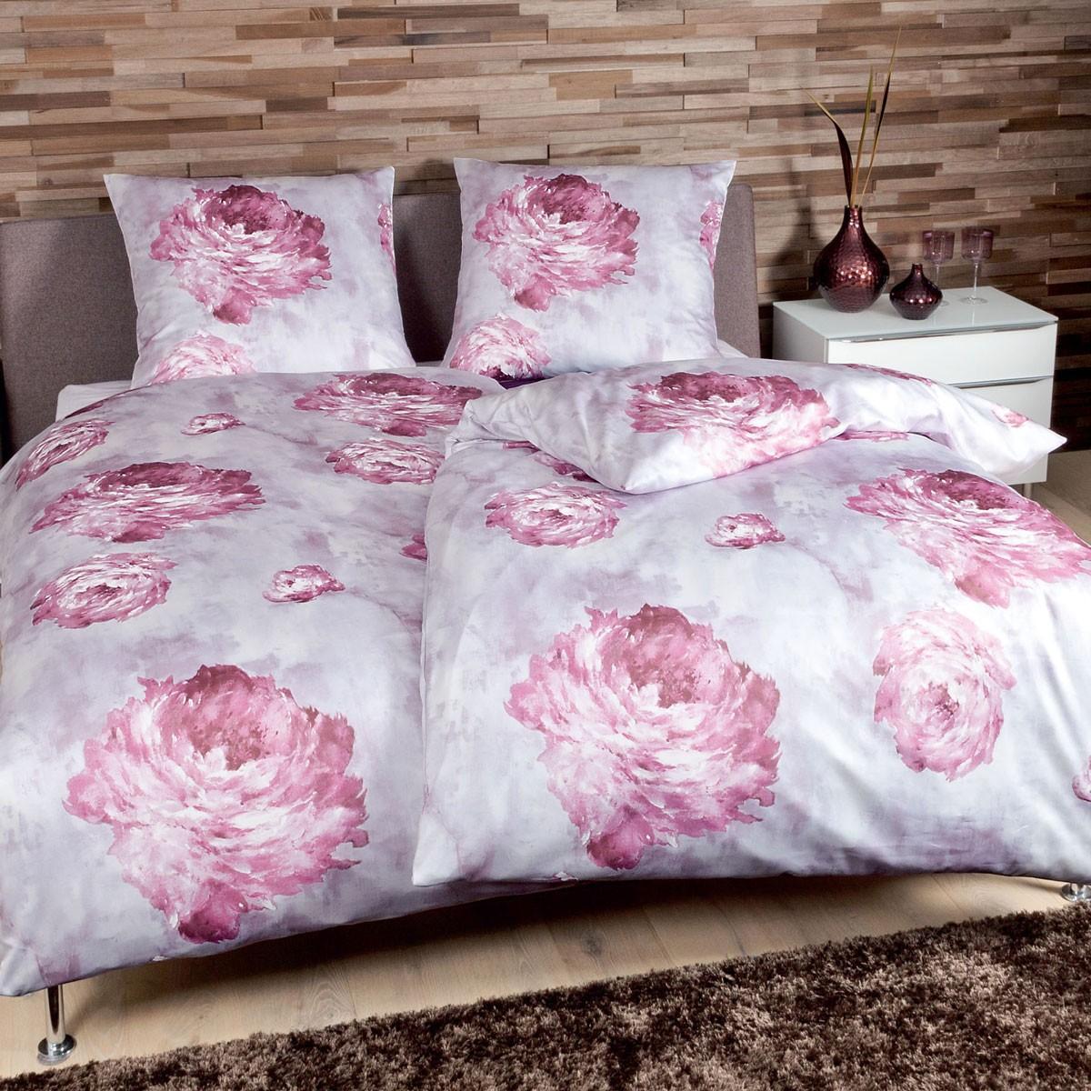 Постельное белье 2 спальное Janine Messina 4733 розовое