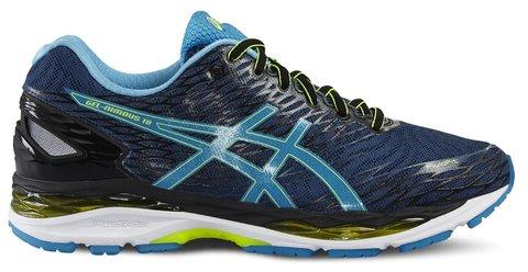 Asics GEL-NIMBUS 18 темно-синие мужские беговые кроссовки