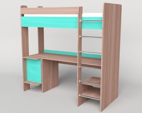 Кровать-стол ШИБУЯ