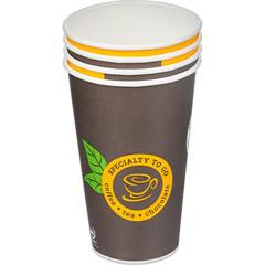 Стакан одноразовый 400 мл бумажный Coffee-to-Go, 50шт./уп.однослойный