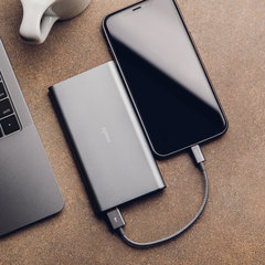 Кабель Moshi Integra Lightning to USB кевлар 0,25 м, серый