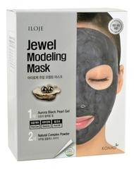 Моделирующая маска для лица с черным жемчугом Iloje Jewel Modeling Mask Aurora Black Pearl