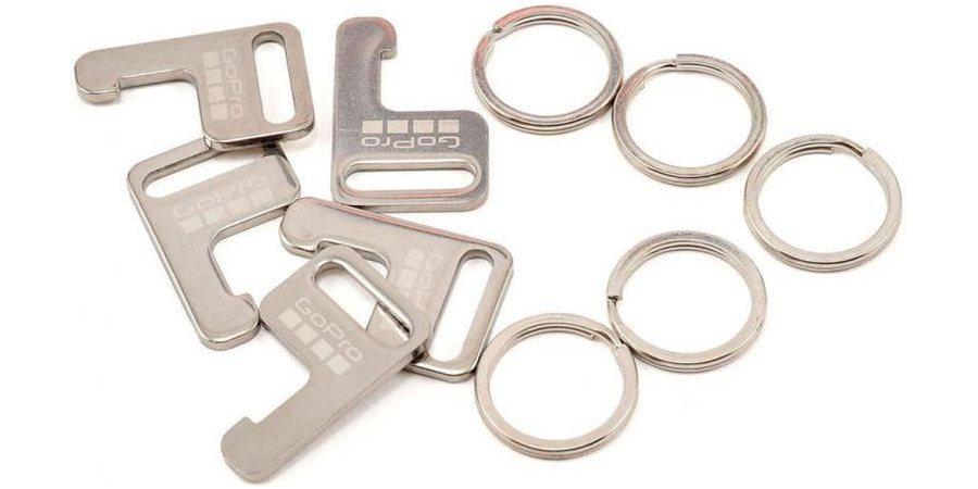 Набор легких креплений для пульта Д/У GoPro Wi-Fi Remote Attachment Key & Rings (AWFKY-001) комплектация