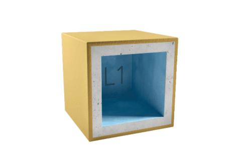 Короб для светильника AcousticGyps Box L1