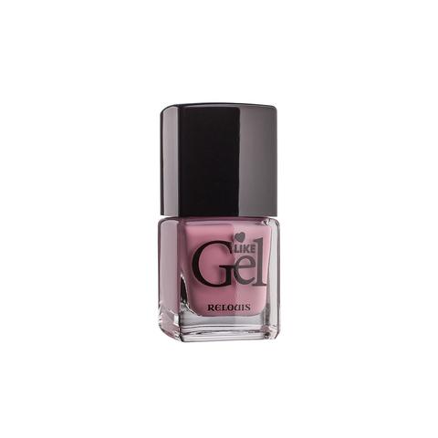 Relouis Like Gel Лак для ногтей с гелевым эффектом тон №02 (кашемировая роза) 6г