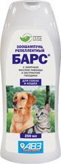 Барс шампунь репилентный для кошек и собак 250мл