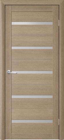 Дверь TrendDoors TDT-2, стекло матовое, цвет лиственница латте, остекленная