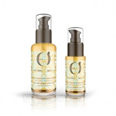Barex Oil Treatment For Hair - Масло-уход с маслом арганы и маслом семян льна