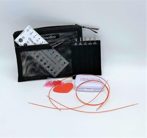 Набор ультратонких  спиц  mini twist set  10 см  Chiaogoo 7400-M