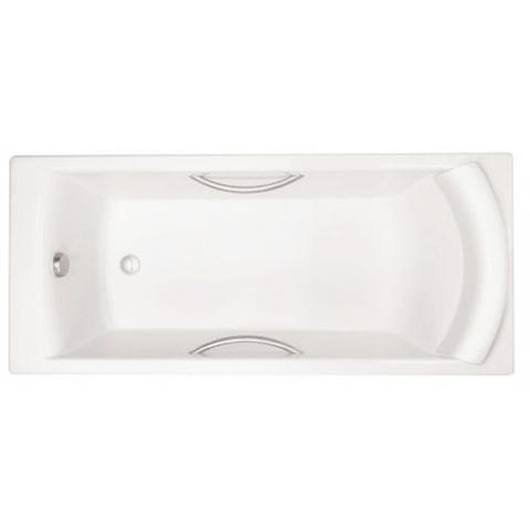 Чугунная ванна Jacob Delafon BIOVE 170x75 с ручками
