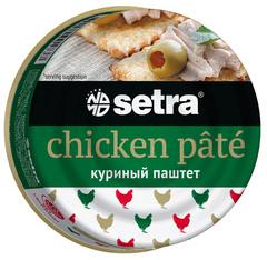 """Паштет """"Setra"""" куриный 100г"""