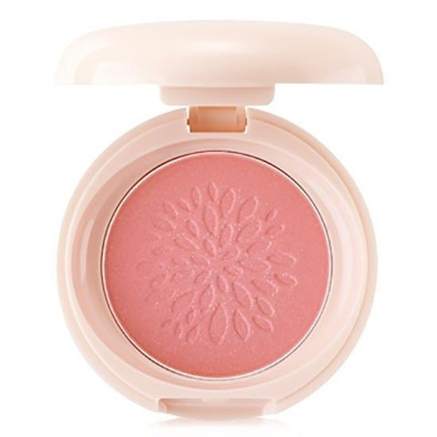 THE SAEM Румяна стойкие мерцающие 04 Saemmul Smile Bebe Blusher 04 Bling Peach(N) 6гр