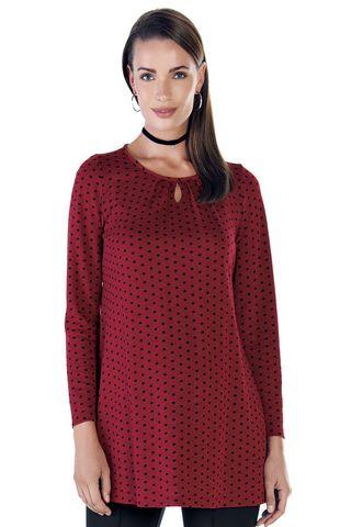 Блузка 08937 красный