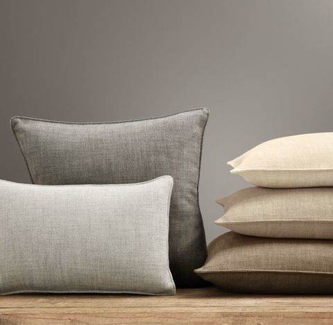 Custom Perennials® Textured Linen Weave Stitched Pillow Cover