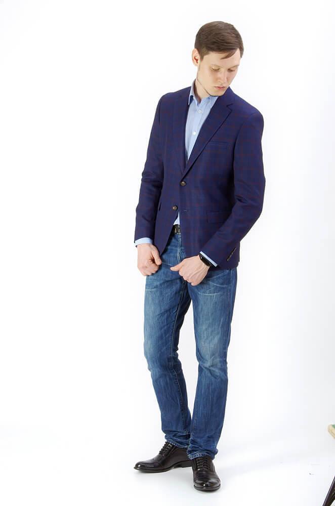 Пиджаки Slim fit CESARI MARIANO / Пиджак Slim Fit IMGP9377.jpg